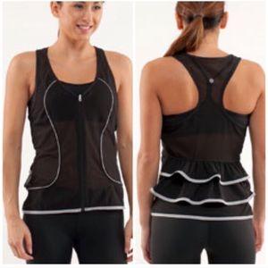 Lulemon Shine your heart out Reflective Vest